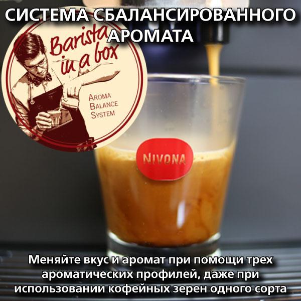 Купить кофемашину NIVONA CafeRomatica 670 – Бесплатная доставка Москва, СПб