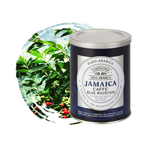 "Кофе молотый Dell Arabica ""Jamaica Blue Mountain"" 0,25 ж/б"
